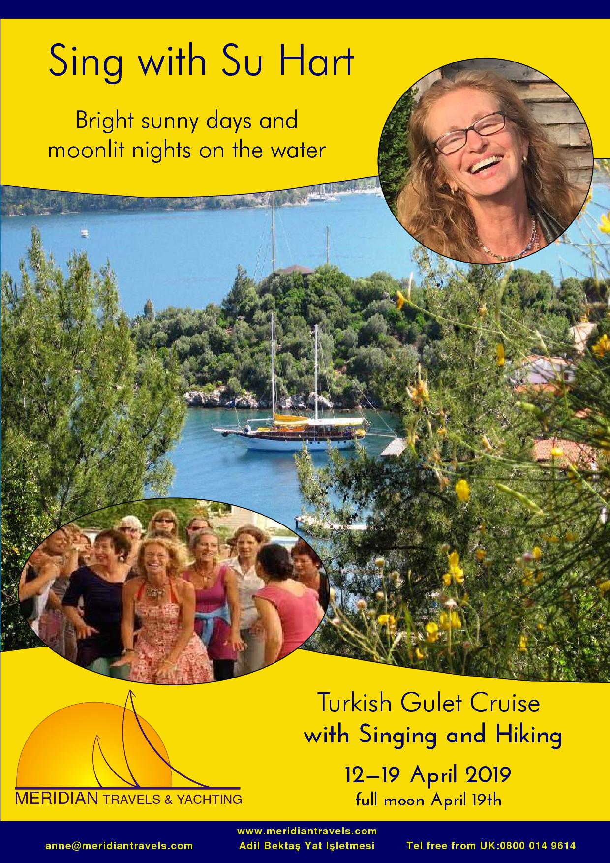 Su Hart Gulet Cruise April 2019